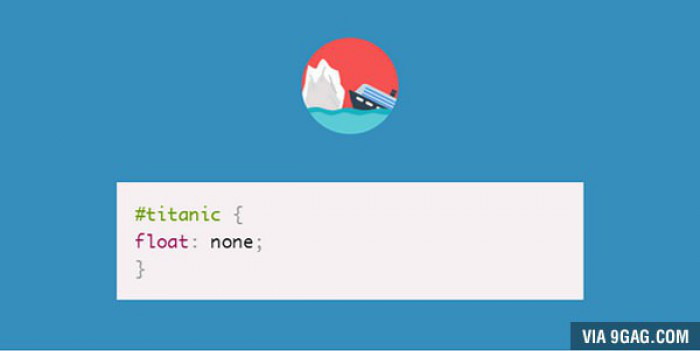 Coder humor #45: Funny CSS