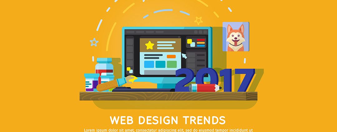Top 10 Graphic Designing Trends For The Year 2017