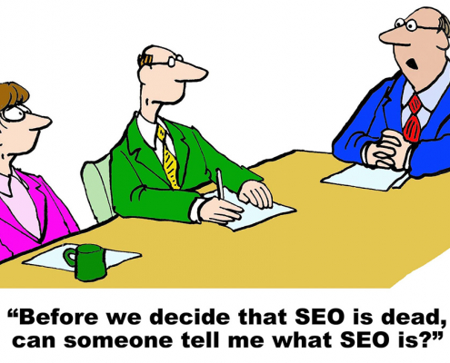 SEO is Dead. Content Marketing = Guaranteed SEO