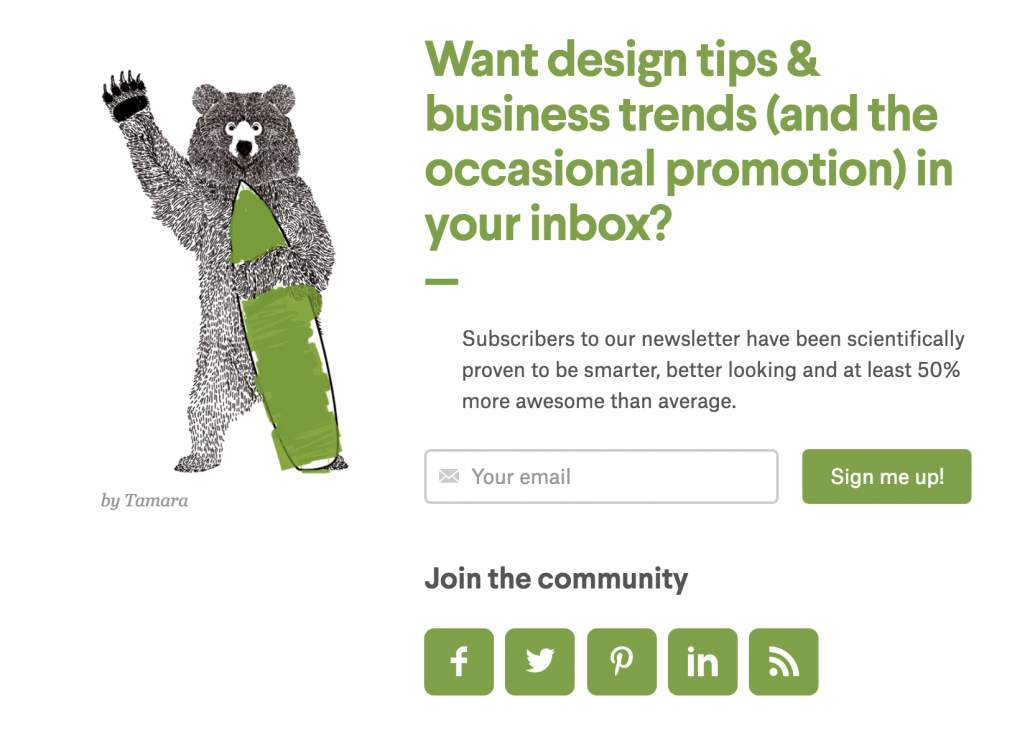 How to Get People to Sign Up for Your Email Newsletter