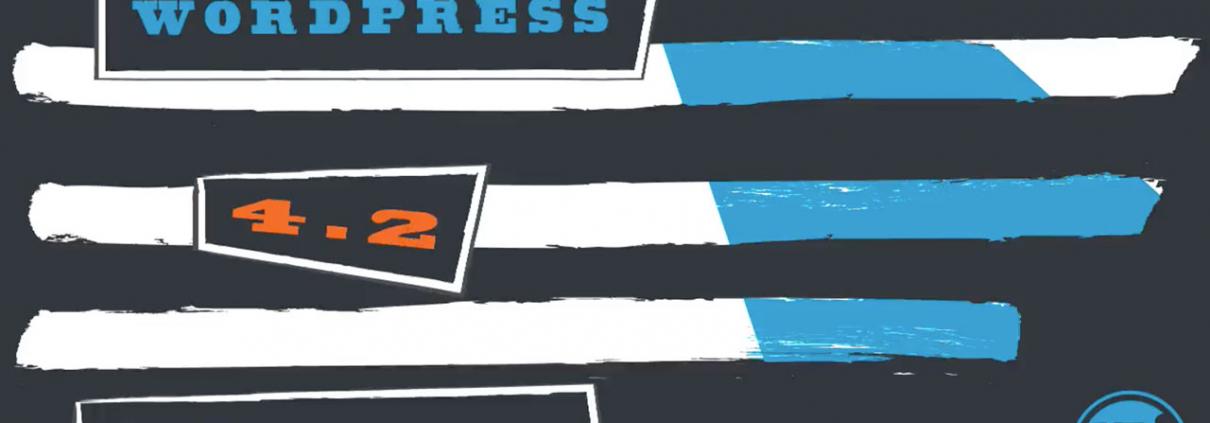 WordPress 4.2 is here!